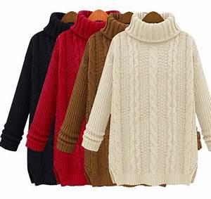 Winter Jersey Bettwäsche : hot sale european style women turtleneck pullover sweaters ~ Watch28wear.com Haus und Dekorationen