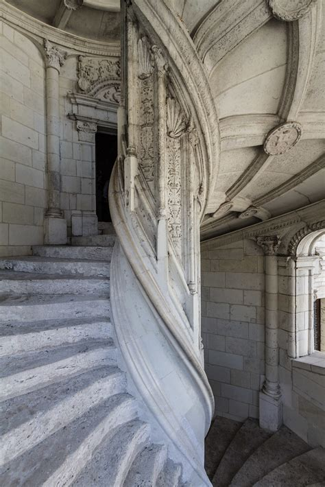 Blois Castle Spiral Staircase | Spiral staircase of the