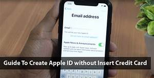 Guide To Create Apple Id Without Insert Credit Card