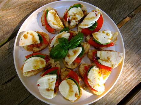 summer canapes fast caprese canapes recipe is an easy way to use
