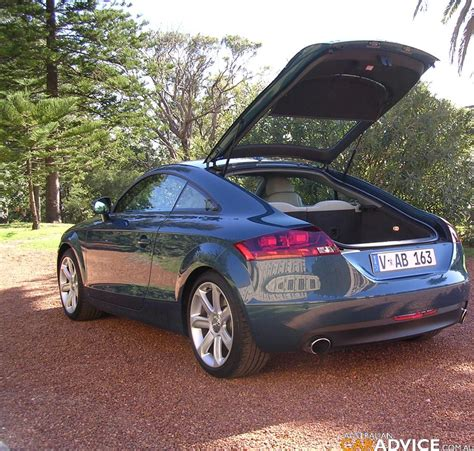 audi tt coupe  quattro  tronic road test