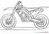 Coloring Bike Pages Motocross Kawasaki Printable Drawing Paper Games sketch template