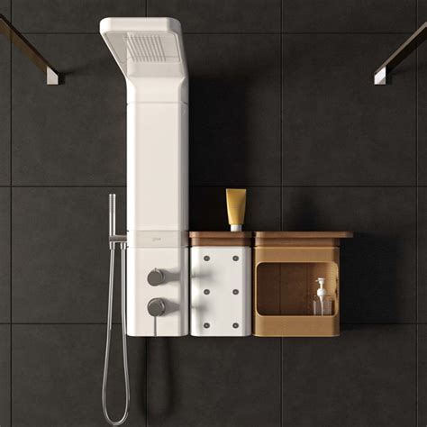 radio de salle de bain design les colonnes de ont une ligne d enfer inspiration bain
