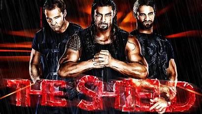 Reigns Roman Shield Wwe Wallpapers Seth Rollins