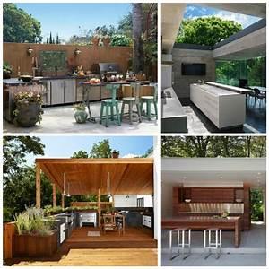 Idee deco cuisine exterieure for Decoration pour jardin exterieur 3 decoration cuisine nordique