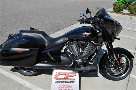 Victory Cross Country 8 Ball Gloss Black Motorcycles For Sale