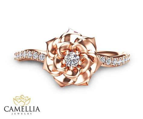 Camellia Flower Ring 14k Rose Gold Diamond Ring Rose Gold. Gold And Diamond Bangle Bracelet. Aurora Rings. 18 Carat Rings. Fashion Diamond. Platinum Jewelry Necklace. Princess Engagement Rings. Kay Bands. Baguette Diamond Bangle
