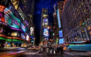 Times, Square, Night, Wallpapers