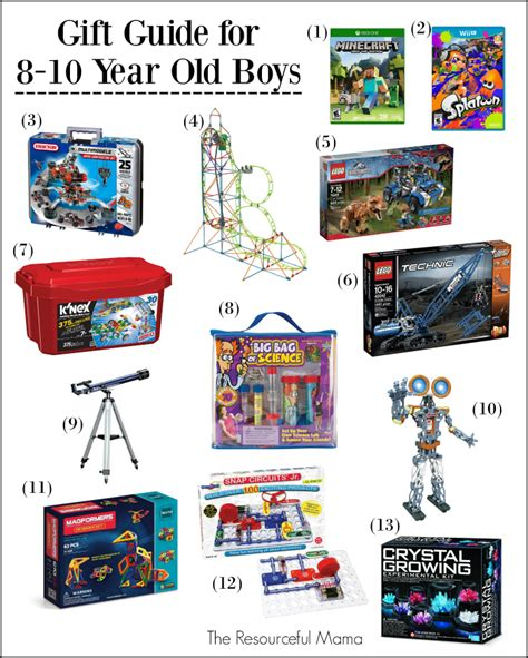 christmas gifts for 1 12 year old boys gift ideas 8 10 year boys