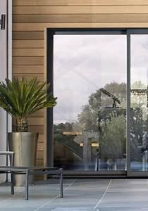 Baie Coulissante Bois : baie vitr e ral 7016 le top sur un studio ext rieur en ~ Premium-room.com Idées de Décoration