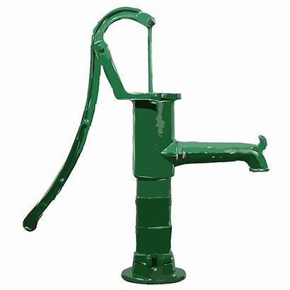 Pump Water Hand Clipart Clip Iron Fashioned
