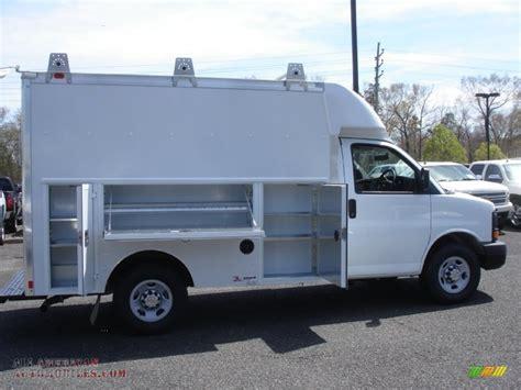 chevrolet express cutaway  utility van  summit