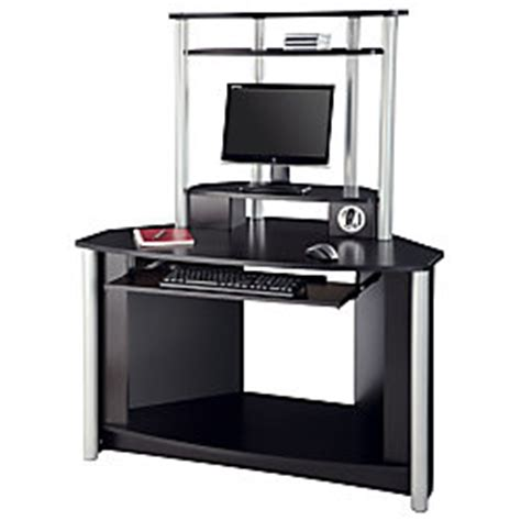 small corner desk office depot citadel corner desk with usb hub 60 1116 h x 47 58 w x 29