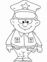 Police Officer Coloring Uniform Colouring Sheets Netart Printable Preschool Crafts Helpers Drawing Getdrawings Modest Became Excellent Craft Getcolorings Jobs Kid sketch template