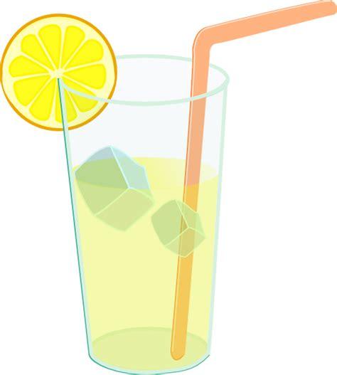 Lemonade Clip Lemonade Glass Clip At Clker Vector Clip