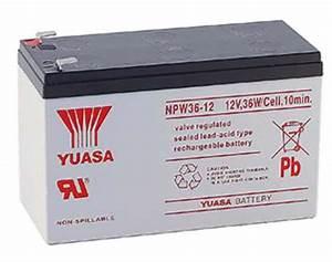 Yuasa Npw36-12 Battery