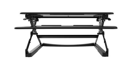 height adjustable standing desk riser rapid riser black height adjustable sit stand desk