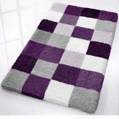 purple bathroom rugs ideas top  designs ideas