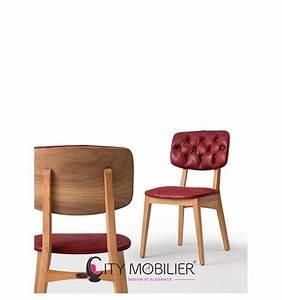 Mobilier Bois Design : chaise vintage en bois valente city mobilier ~ Melissatoandfro.com Idées de Décoration