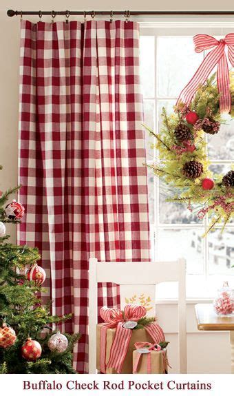 9 best images about Buffalo check curtains on Pinterest