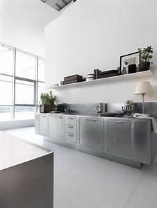 Edelstahl kuche abimis von prisma for Küche edelstahl