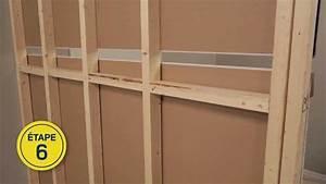 Faire Une Cloison De Separation : rona comment construire un mur int rieur youtube ~ Melissatoandfro.com Idées de Décoration