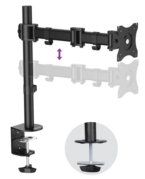 vesa desk mount articulating arm articular arm monitor mount