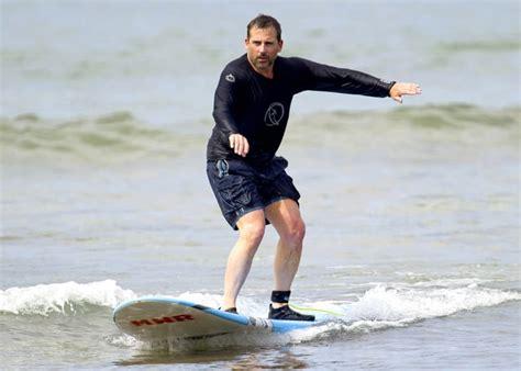 steve carell swimsuit steve carell celebs surfing photos of stars catching
