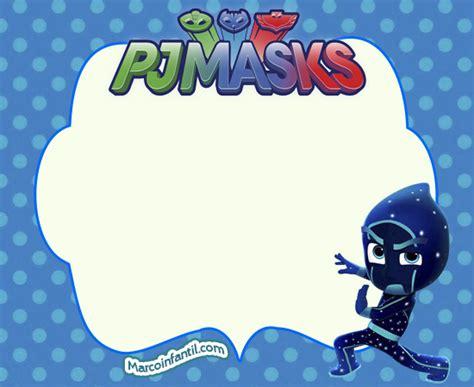 marcos de pj masks  heroes en pijamas marcos infantiles