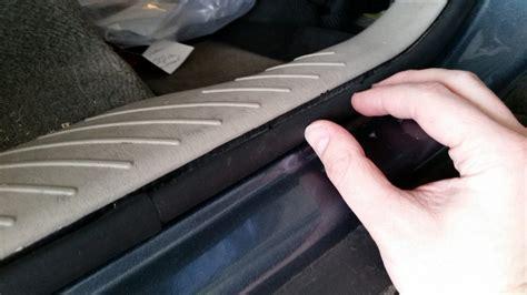 Car Door Weatherstripping Repair Homediygeek