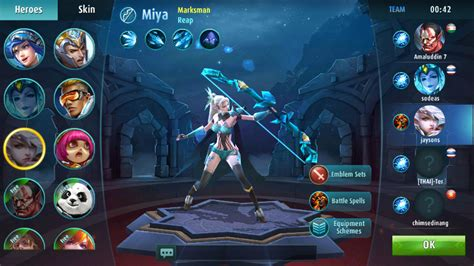 mobile legend characters mobile legends heroes spotlight miya guide to kill
