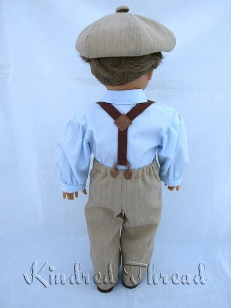 kindred thread pioneer boy doll clothes pattern