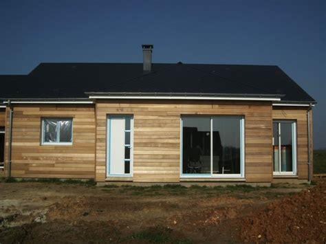 maison en panneaux de bois constructeur maisons bois maison construite proche rouen