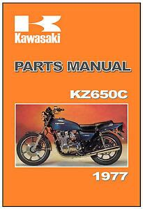 kawasaki parts manual kz kzc  zc