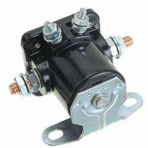 12v Starter System Solenoid Relay Contactor Switch Engine For 1956