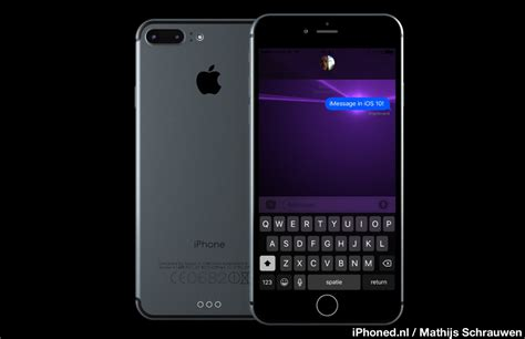 iphone 7 images iphone 7 concept running ios 10 images iclarified