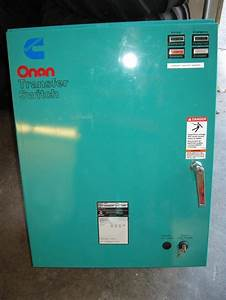 Onan Otpc Transfer Switch Manual Schematic Diagram