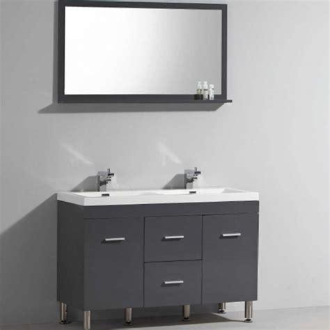 ens klassyk meuble 224 poser vasque avec miroir inclu