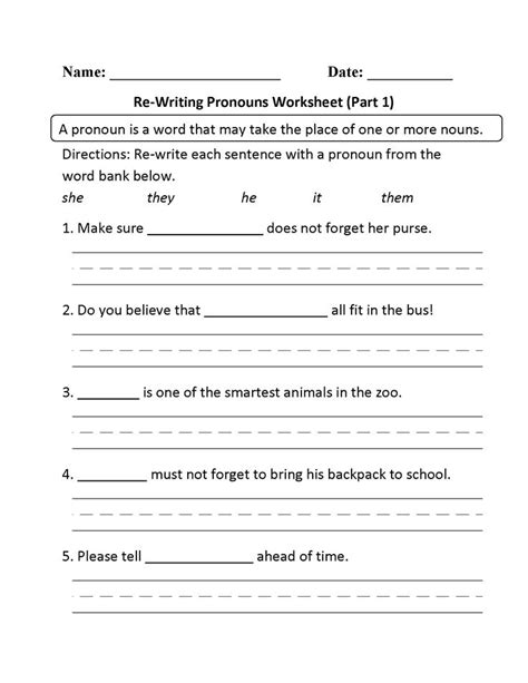 Best 25+ Pronoun Worksheets Ideas On Pinterest  All Pronouns, Pronoun Activities And Object