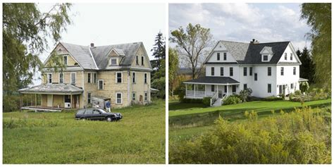 restored homes before and after renovating an old house before and after pictures of home restoration