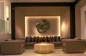 Feng Shui Wandfarben Wohnzimmer : das wohnzimmer in zwei feng shui bagua bereichen das erdelement ~ Markanthonyermac.com Haus und Dekorationen