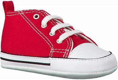 Converse Babyschuhe Rote Trainers Babyschoenen Rode Omoda