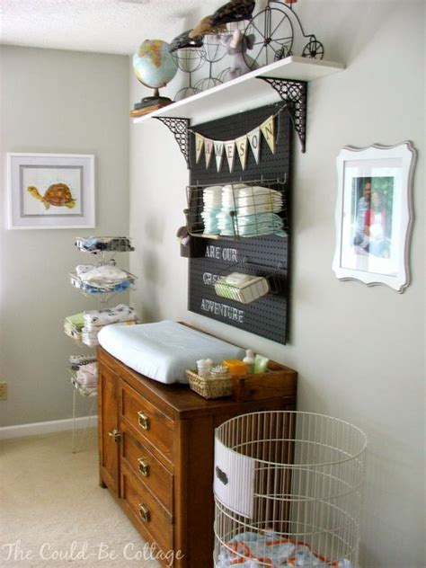 inspirational organized changing tables