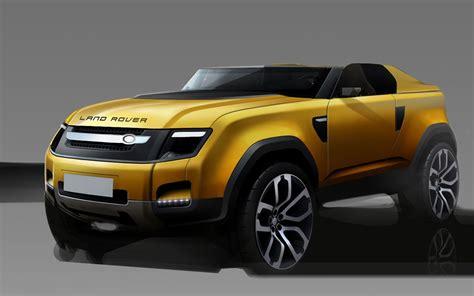 Land Rover Dc 100 Sport Concept Design Sketch