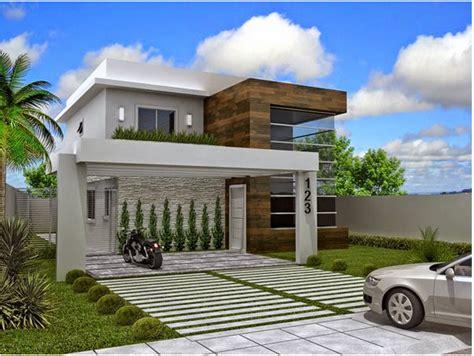 Construindo Minha Casa Clean Fachadas De Casas Quadradas