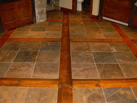 slate kitchen flooring the gallery for gt tile and hardwood floor combinations 2304