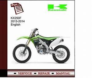 Kawasaki Kx250f 2013-2014 Service Manual