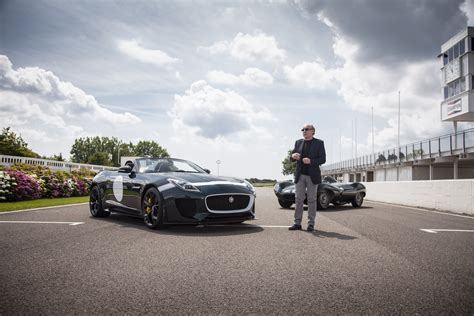 A Car Icon Is Born Jaguar F Type Project 7 Debut The
