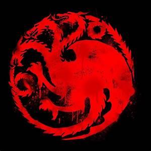 Game of Thrones Targaryen Sigil Three Headed Dragon Spray ...