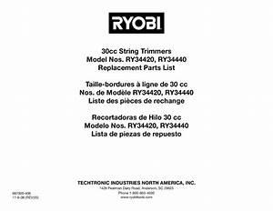 Ry34420 Manuals